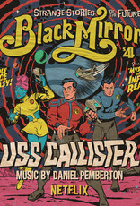 Daniel Pemberton - Black Mirror: USS Callister (Original TV Soundtrack) [2LP] (Red Vinyl, first time on vinyl, bespoke artwork from Butcher Billy, poster art print, limited, indie exclusive)