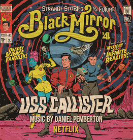 Daniel Pemberton - Black Mirror: USS Callister (Original TV Soundtrack) [2LP] (Red Vinyl, first time on vinyl, bespoke artwork from Butcher Billy, poster art print, limited, indie exclusive)
