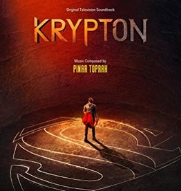Pinar Toprak - Krypton (Soundtrack) [LP] (Orange/Yellow Galaxy Colored Vinyl, limited to 1350, indie exclusive)