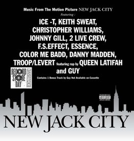 Various Artists - New Jack City (Soundtrack) [LP] (Silver Vinyl, first time on vinyl, limited to 1500, indie exclusive)