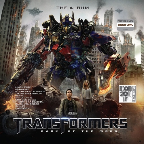 Various Artists - Transformers Dark Of the Moon - The Album [LP] (Brown Vinyl, first time on vinyl worldwide, limited to 1500, indie exclusive)