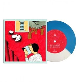 Basement - Be Here Now [7''] (White/Blue Vinyl, unreleased B-side, limited to 1200, indie exclusive)