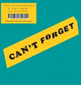 Lemonheads, The - Can't Forget / Wild Child [7''] (limited to 1000, indie exclusive)
