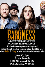 Baroness - Gold & Grey (Exclusive Transparent Orange and Yellow-Black Marble Color Vinyl)