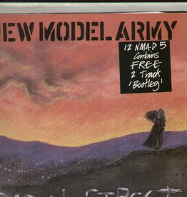 New Model Army - Poison Street (contains Free 2 Track 'Bootleg')