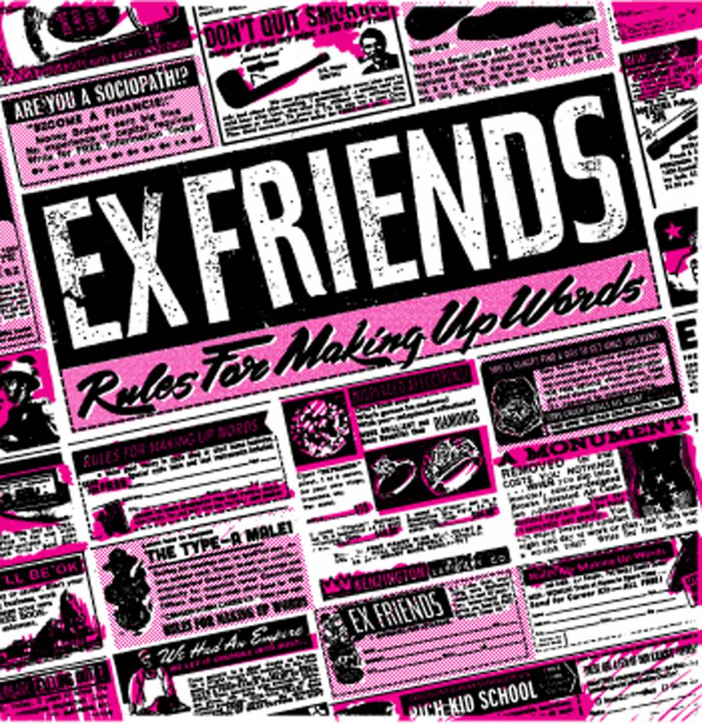 Creep Records Ex Friends - Rules For Making Up Words (CD)