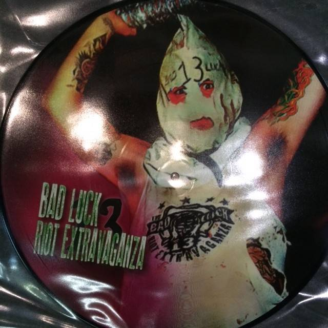 Creep Records Bad Luck 13 Riot Extravaganza - Picture Disc