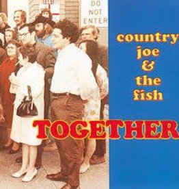 Country Joe & The Fish - Together [LP] (remastered 1968 iconic rock classic, first time available on vinyl in over 40 years, limited indie-exclusive)