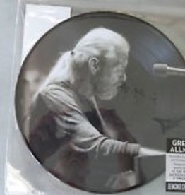 Gregg Allman - [10'' EP] (Picture Disc, 2 unreleased live tracks and 2 tracks never before on vinyl, limited indie-exclusive)