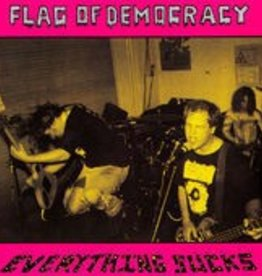 Flag Of Democracy - Everything Sucks [LP] (Magenta Vinyl, download, limited to 400, first time on vinyl, indie-retail exclusive)