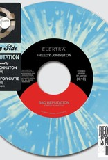 Death Cab For Cutie/Freedy Johnston - Side By Side: Bad Reputation [7''] (Baby Blue Colored Vinyl With Coke Bottle Green Splatter, limited to 6500, indie-retail exclusive)
