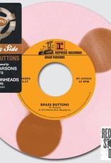 Gram Parsons/Lemonheads - Side By Side: Brass Buttons [7''] (Bronze And Baby Pink Vinyl, limited to 7000, indie-retail exclusive)