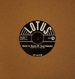 Lotus - Basin to Benin / Tarot 7inch