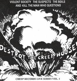 Various – Destroy The Creep House (CD)