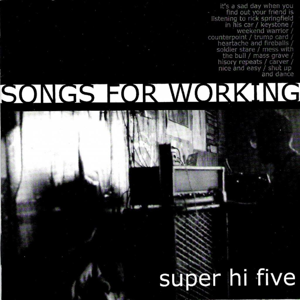 Super Hi Five – Songs For Working (CD)