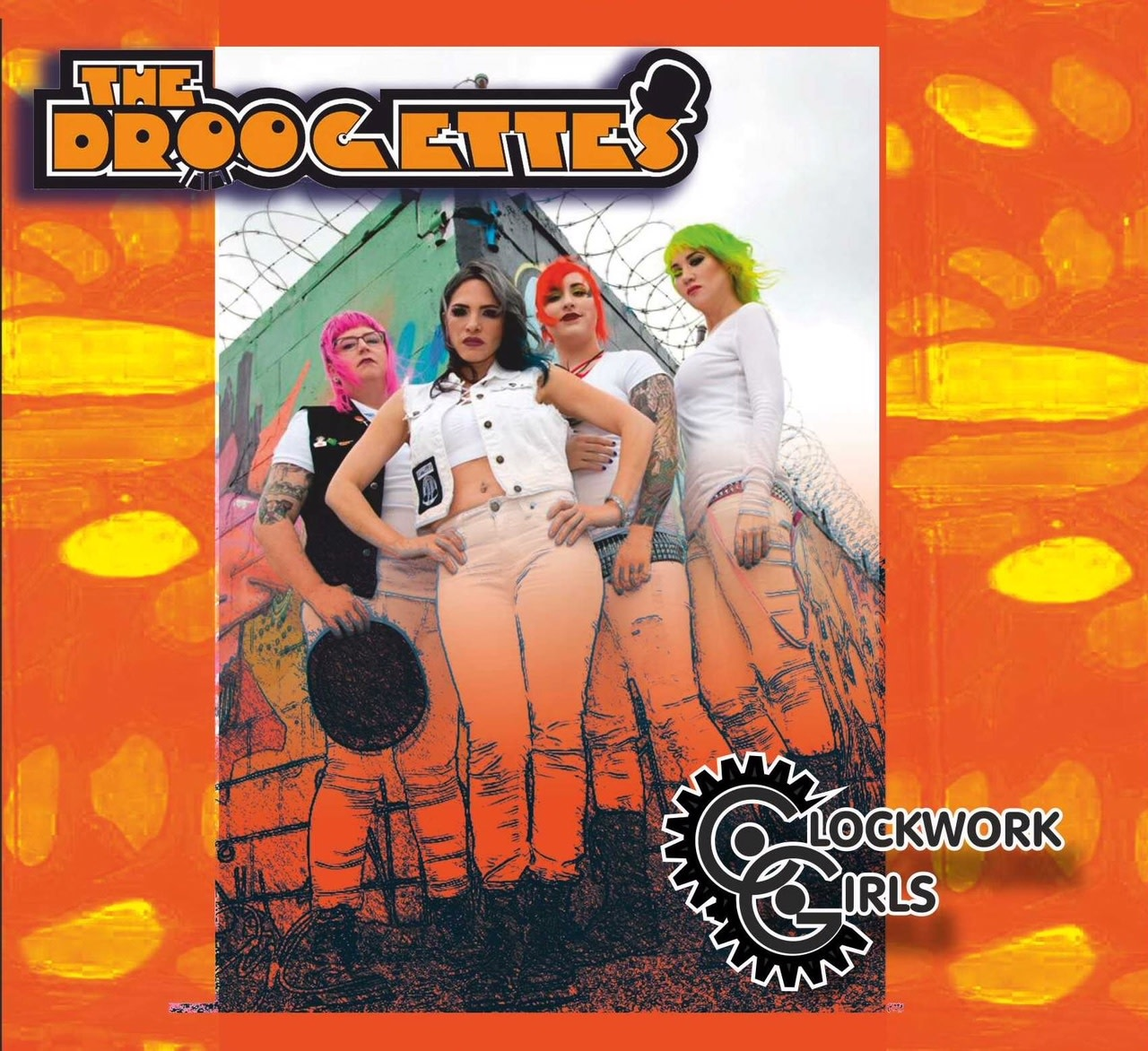 The Droogettes - Clockwork Girls (CD)