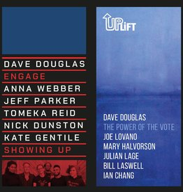 """Dave Douglas - Showing Up / The Power of the Vote 7"""""""