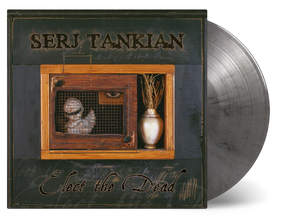 Serj Tankian - Elect The Dead [2LP] (LIMITED U.S. EXCLUSIVE SILVER MARBLED 180 Gram Audiophile Vinyl, gatefold, insert, etched D-side, numbered to 1000)