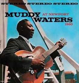 Muddy Waters - Muddy Waters at Newport (180 Gram Transluscent Blue Audiophile Vinyl)