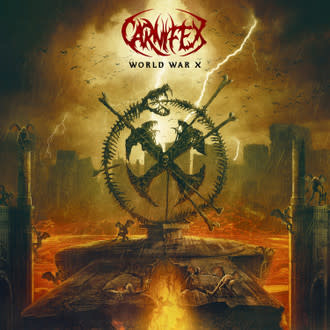 Carnifex - World War X (Gold Vinyl limited to 1000)