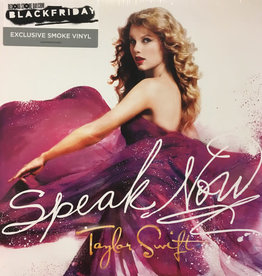 Taylor Swift - Speak Now [2LP] (180 Gram, Smoke Colored Vinyl, numbered/limited to 4000, indie-retail exclusive)