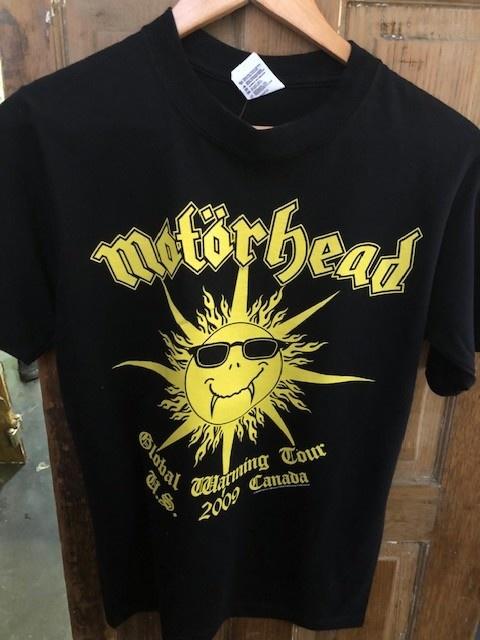 Mötorhead Global Warming 2009 Tour Tee S