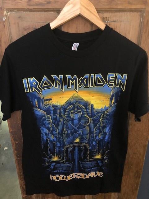 Iron Maiden Powerslave Tee S