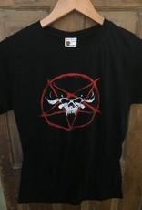Danzig Pentagram Skull Babydoll Tee L