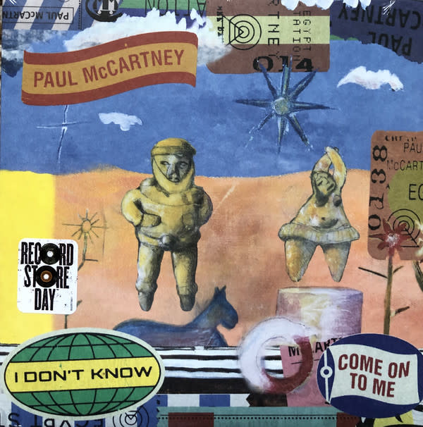 Paul McCartney - I Don't Know / Come On To Me [7''] (2 new singles, hand-numbered/limited to 5000, indie-retail exclusive)