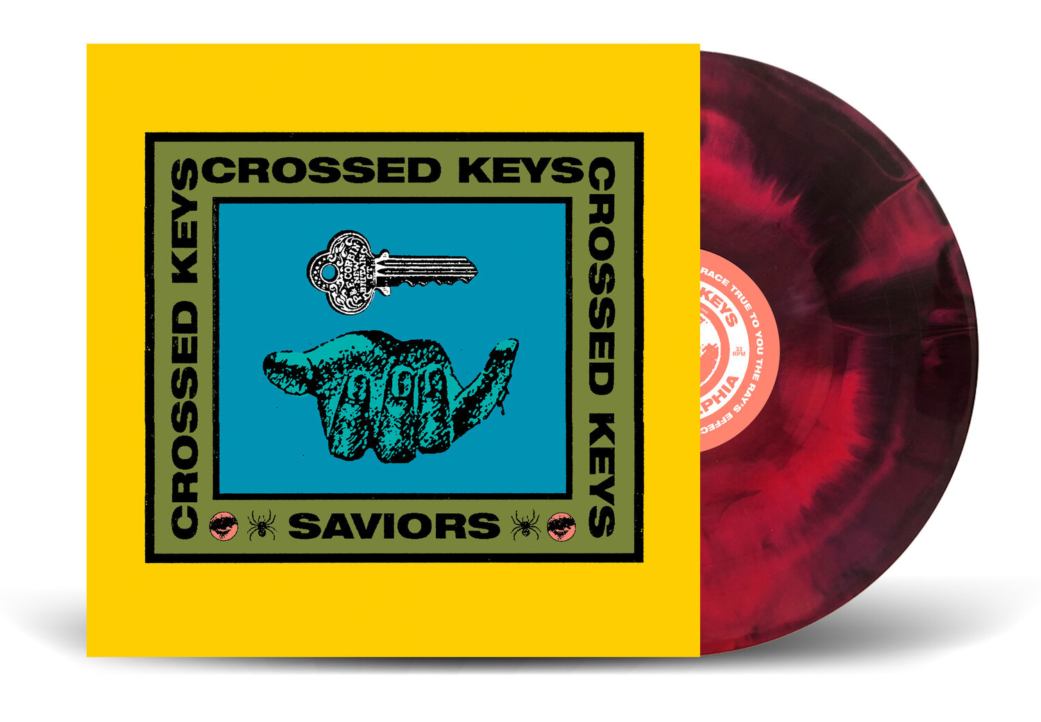 Crossed Keys - Saviors
