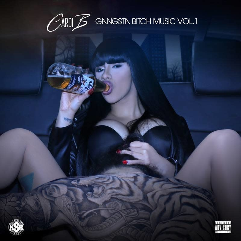 Cardi B - Gangsta Bitch Music Vol. 1 [LP] (first time on vinyl, limited to 2000, indie advance-exclusive)