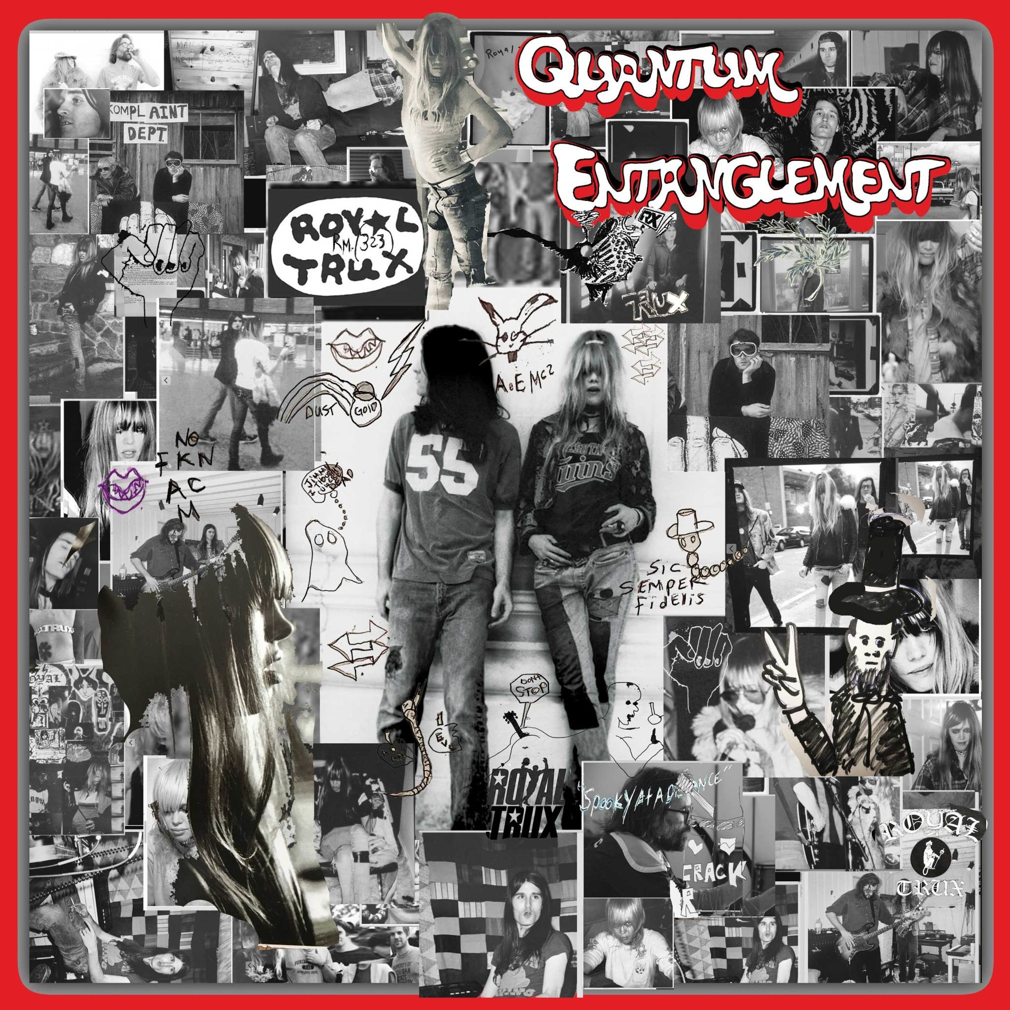 Royal Trux - Quantum Entanglement [LP] (Yellow Vinyl, limited to 800, indie advance-exclusive)