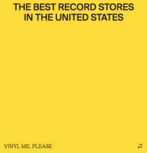 Vinyl Me, Please - Best Record Stores In The United States [BOOK] (feat. an essay on one record store from each of the 50 states, limited to 1000, indie-excluisve)