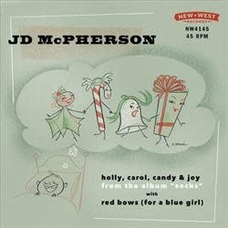 JD McPherson - Holly, Carol, Candy & Joy / Red Bows (For A Blue Girl) [7''] ('Snow Globe' Colored Vinyl, limited to 1500, indie-exclusive)