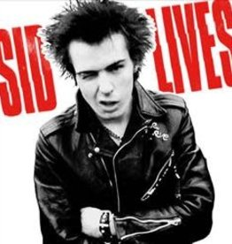 Sid Vicious - Sid Lives! [2LP] (Red, White & Blue Vinyl, Sid's last ever four shows, limited to 1350, indie-exclusive)