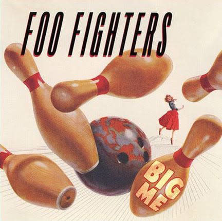 Foo Fighters Big Me Single 3 Inch Vinyl