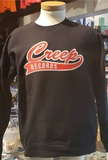 Creep Records Creep Records Embroidered Crewneck