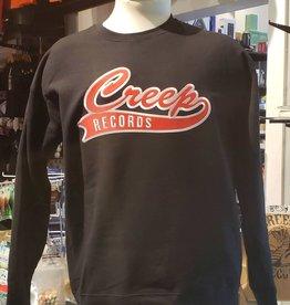 Creep Records Creep Records Embroidered Crewneck