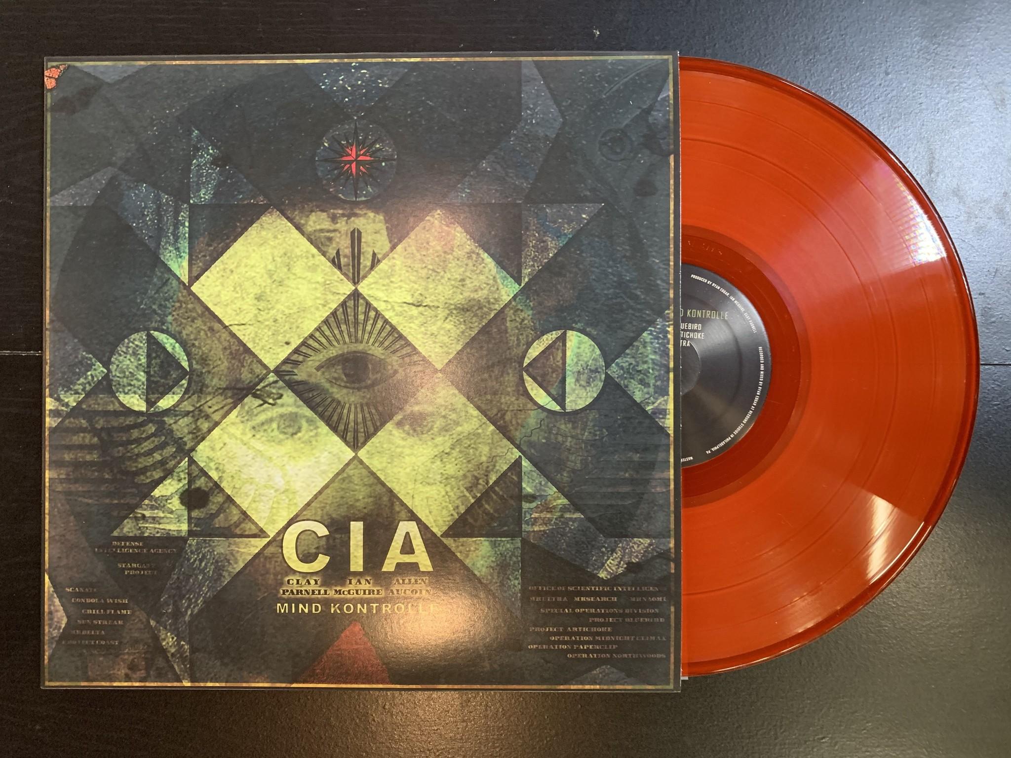 CIA - Mind Kontrolle Vinyl