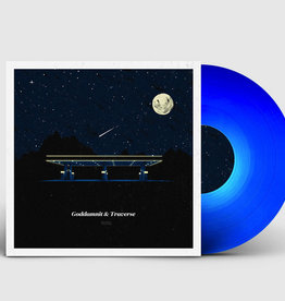 "Creep Records Goddamnit & Traverse - Goddamnit & Traverse (Split 12"" on Solid Dark Blue Vinyl)"
