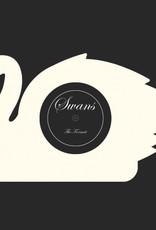 """The Format -  Swans - Vinyl - Custom Shaped White 7"""""""