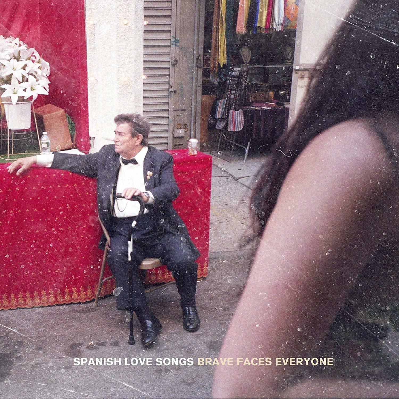 Spanish Love Songs - Brave Faces Everyone (Indie Exclusive Half Red / Half Bone w/ Black Splatter Vinyl)