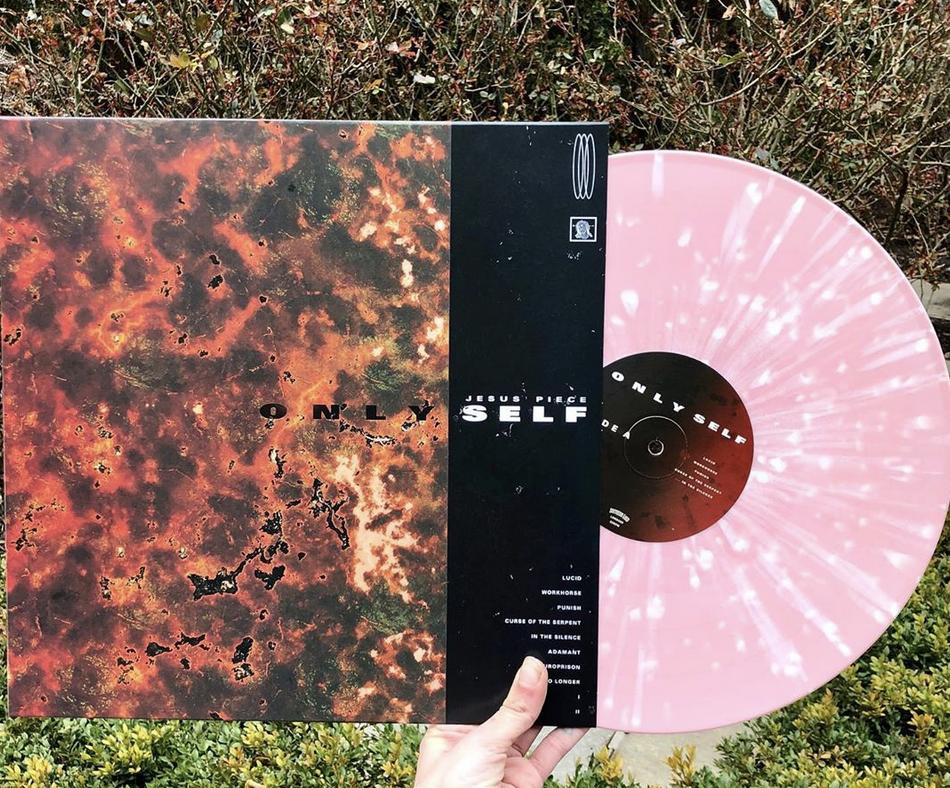 Jesus Piece - Only Self (Pink w/ White Splatter Color Vinyl)