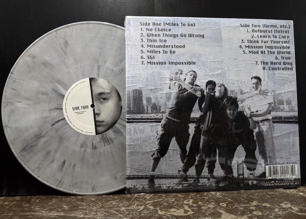 Outburst - Miles To Go (30th Anniversary Reissue)  (Smoked Gray Vinyl)