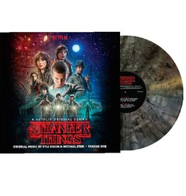 Stranger Things - Soundtrack Vol. 1 (Clear With Black Smoke Indie Exclusive Color Vinyl)