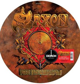 RSD17 Saxon - Into The Labyrinth [LP] (Picture Disc, A-side features the original cover paining by Paul Gregory, B-side features a painting by Kai Swillus, limited to 1500, indie-retail exclusive)