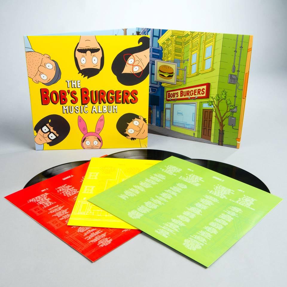 "Bob's Burgers - The Bob's Burgers Music Album (3 LP + 7"", Includes Download Card)"