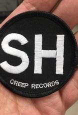 """SH Died For Our Sins Memorial Patch (Round 2-1/2"""" Black Background & Black Border)"""