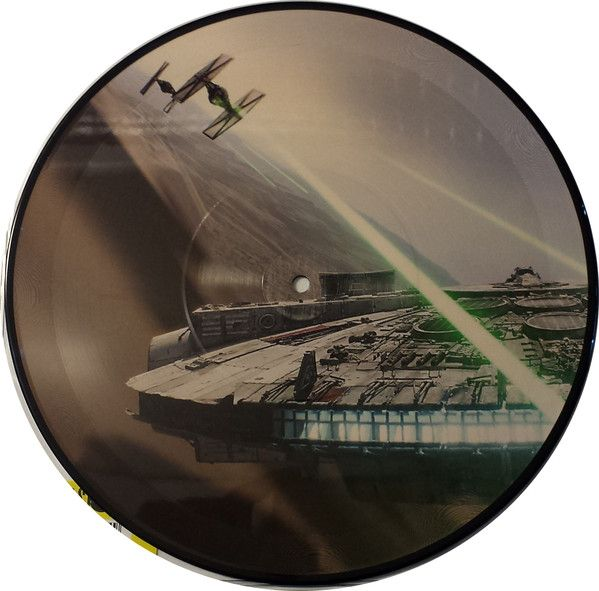 Various Artists - Star Wars: The Force Awakens ''March Of The Resistance b/w Rey's Theme'' (Soundtrack) [10''] (Picture Disc, limited, indie-retail exclusive)