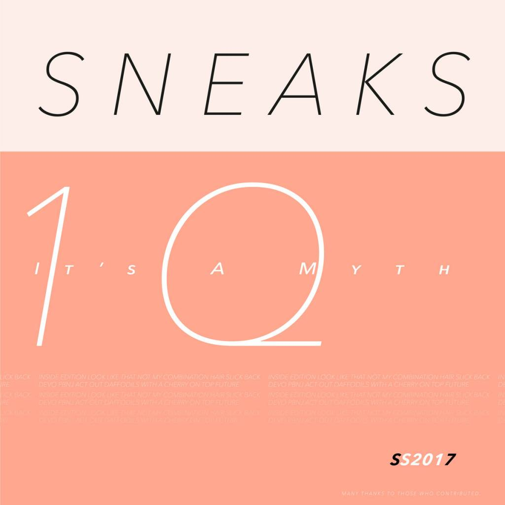 Sneaks - It's A Myth